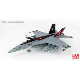 Hobby Master FA18E Super Hornet VFA14 Tophatters NH-200 CAG 90th Anniversary 2009 1:72 with stand**o/p**