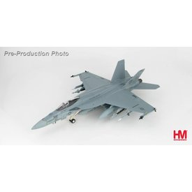 Hobby Master FA18E Super Hornet VFA-87 War Party USS George H. W. Bush AJ-302, Su22 Killer June 2017 1:72 with stand