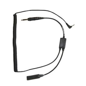Pilot Communications Headset Adapter Smartphone Digital Audio Recorder Adapter