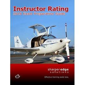 Sharper Edge Sharp Instructor Rating Exam Preparation Guide 2018