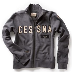 Red Canoe Brands Cessna Full Zip Sweatshirt
