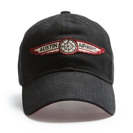 Red Canoe Brands Cap Austin Airways Black