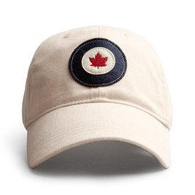 Red Canoe Brands Cap Rcaf Roundel Stone