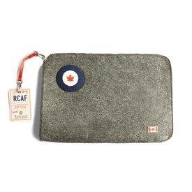 Red Canoe Brands Laptop Case RCAF Felt