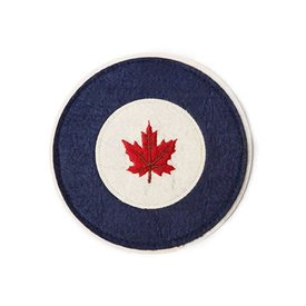 Red Canoe Brands Patch RCAF Roundel Felt 5""