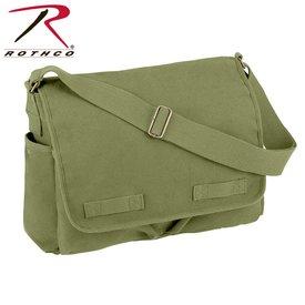 Rothco Vintage Messenger Bag Olive Drab