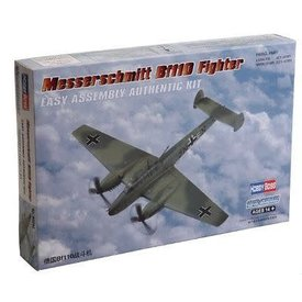HobbyBoss Messerschmitt BF110 Fighter 1:72 Plastic Kit