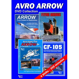 AVVID DVD Collection Avro Arrow 4 X DVDs 350 Minutes