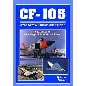 AVVID DVD CF105 Avro Arrow Enthusiast Edition