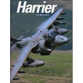 Crecy Publishing Harrier Hardcover Tim McLelland