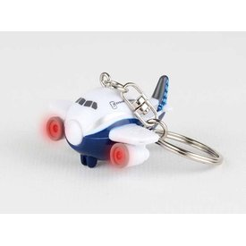 "Daron WWT Boeing ""Dreamliner"" Airplane Key Chain W/ Lights & Sound"