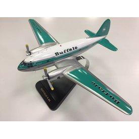 Flightline C46 Commando Buffalo Airways Mahogany w/stand