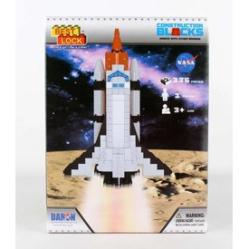 Daron WWT Space Shuttle 140 Piece Construction Toy