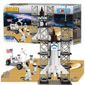 Daron WWT Space Shuttle 513 Piece Construction Toy