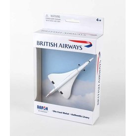 Daron WWT British Airways Concorde Single Plane