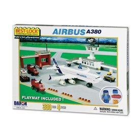 Best-Lock Construction Toys Airbus A380 330 Piece Construction Playset