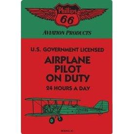 Pilot On Duty Sign