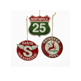 Tin Sign Ornaments