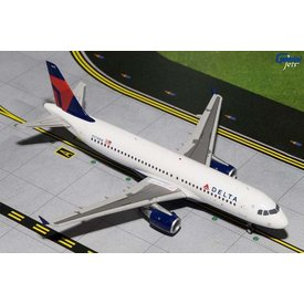 Gemini Jets A320 Delta 2007 livery N374NW 1:200 with stand