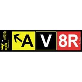 AV8R Bumper Bumper Sticker