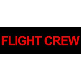 Sticker Flight Crew