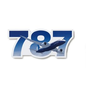 The Boeing Store 787 Program Boeing Die Cut Sticker