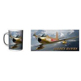 Labusch Skywear Golden Hawks Ceramic Mug