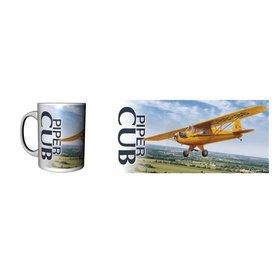 Labusch Skywear J-3 Piper Cub Ceramic Mug