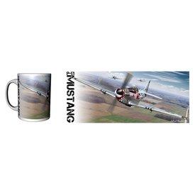 Labusch Skywear P-51 Mustang (USAF) Ceramic Mug