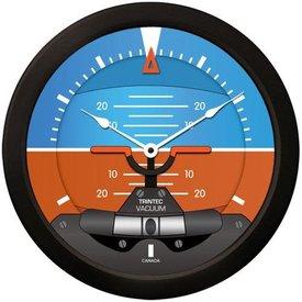 "Trintec Industries 14"" Modern Artificial Horizon Clock"