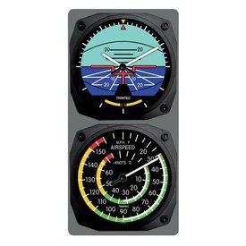 Trintec Industries Classic Artificial Horizon/Airspeed