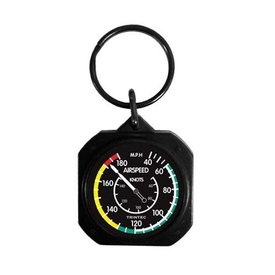Trintec Industries Classic Airspeed Indicator Keychain