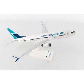 SkyMarks B737 MAX8 WestJet 1:130 with stand (no gear)
