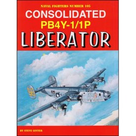 Naval Fighters Consolidated PB4Y1/1P Liberator:Naval Fighters #105 SC