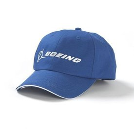 The Boeing Store Cap Boeing Blue Logo