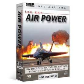 Topics Entertainment Top Gun Air Power 4-Pack DVD Set