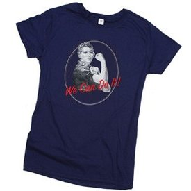 Rosie Blue Ladies T-shirt