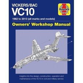 Haynes Publishing Vickers BAC VC10 Owner's Workshop Manual:1962-2013 HC
