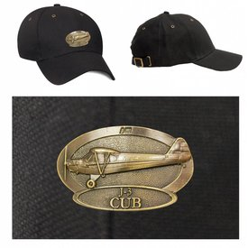 Labusch Skywear J-3 Piper Cub Brass Cap