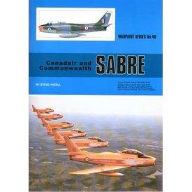 Warpaint Canadair & Commonwealth Sabre: Warpaint #40 SC