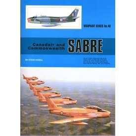 Warpaint Canadair & Commonwealth Sabre: Warpaint #40 softcover