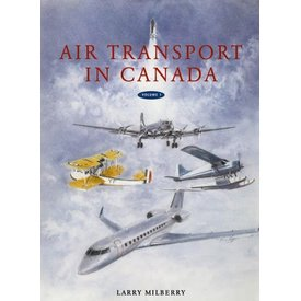 CANAV BOOKS Air Transport in Canada hardcover++2 Volume Set++