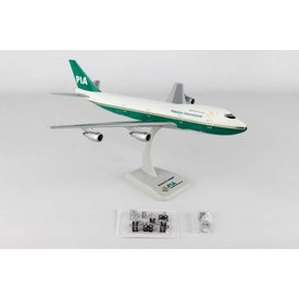 Hogan B747-200 Pakistan International old colours AP-BAT 1:200 with gear + stand