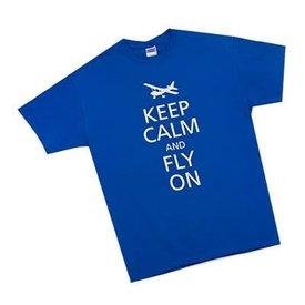 Sporty's Keep Calm Tee