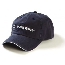 The Boeing Store CAP Boeing Chino Bill Washed Navy