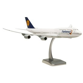 Hogan B747-8I Lufthansa Fanhansa D-ABYO 1:200 with stand (no gear)