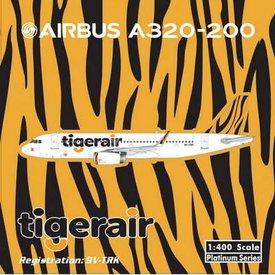 Phoenix A320S Tiger Airways sharklets 9V-TRK 1:400