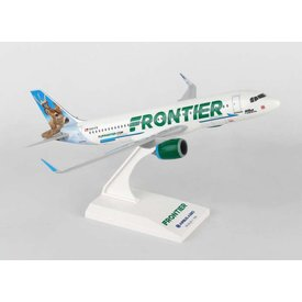 SkyMarks A320neo Frontier new livery 2014 Wilbur the Whitetail 1:150 with stand (no gear)