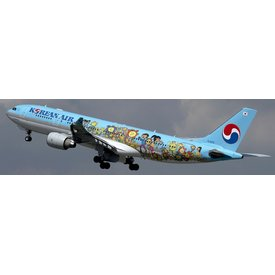JCWINGS A330-200 Korean Air Children's Drawing contest HL-8212 1:200 with stand