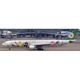 JCWINGS A330-300 EVA Air Sanrio Special B-16333 1:200 with stand
